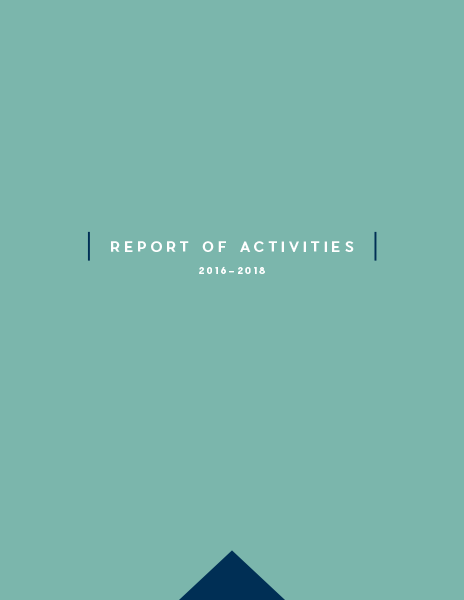 Report of Activities: 2016-2018