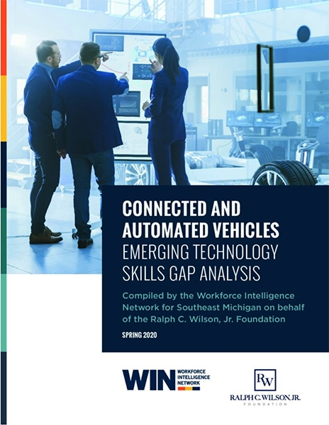 Connected & Automated Vehicles Emerging Technology Skills Gap Analysis